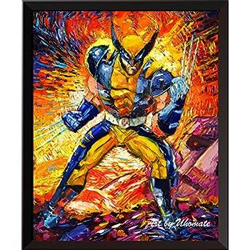 Maxi Size 36 x 24 Inch Marvel X-Men Wolverine Berserker Rage Poster New
