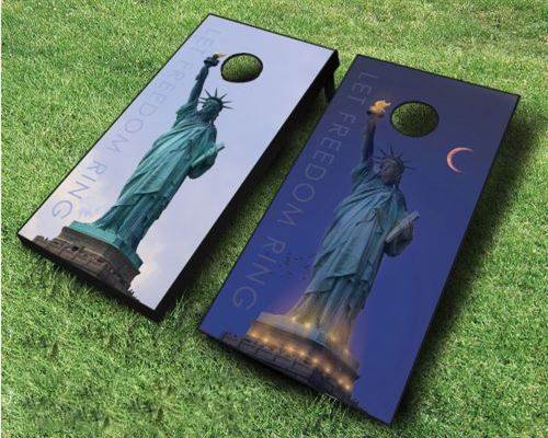 Let Freedom Ring Cornhole Set by Tailgate Pro's