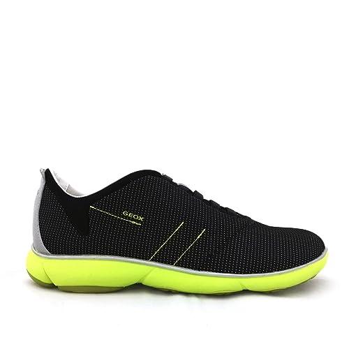 Geox Zapatillas de Lona Para Hombre Negro Negro Negro Size: 42: Amazon.es: Zapatos y complementos
