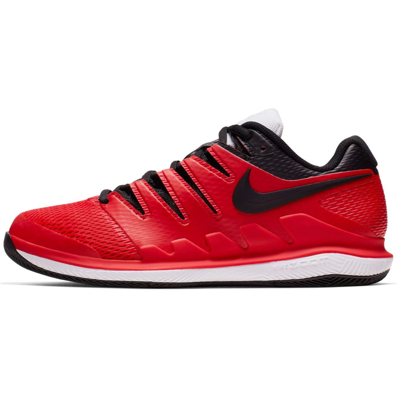 MultiCouleure (University rouge noir blanc 000) Nike Air Zoom Vapor X HC, Chaussures de Tennis Homme 47 EU