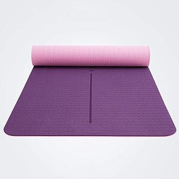 Fgtree Estera de yoga Material de TPE de línea media, doble ...