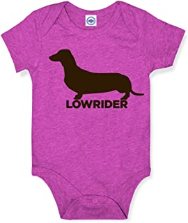 product image for Hank Player U.S.A. Lowrider Dachshund Baby Onesie