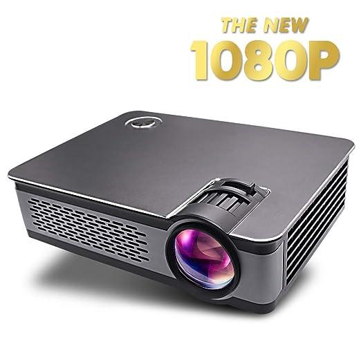 SEXTT Mini proyector, videoproyector Full HD de 3000 lúmenes ...