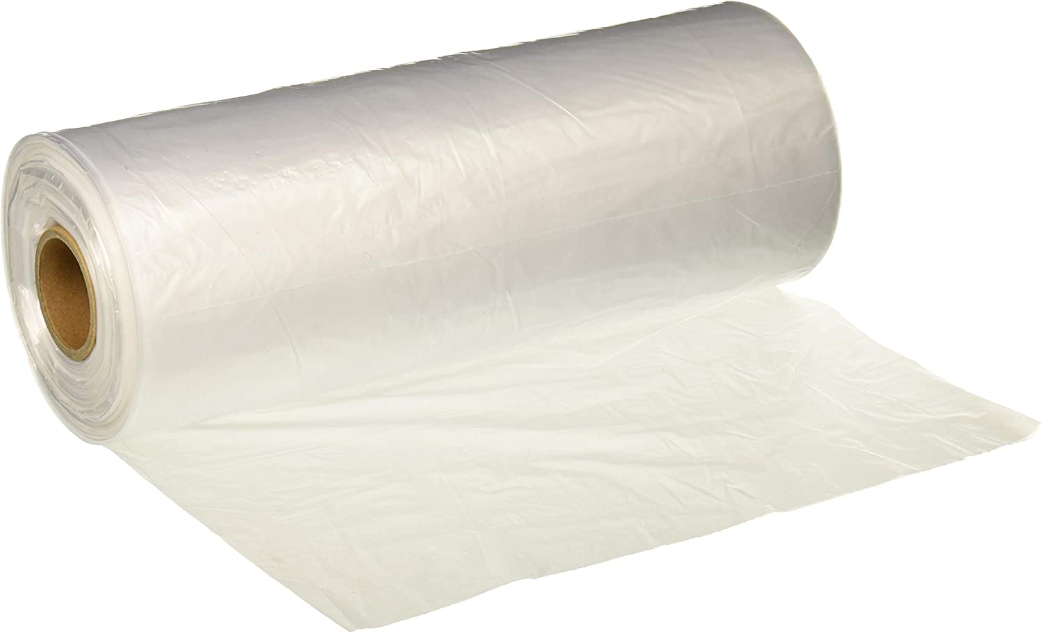"""Party Bargains 10"""" X 15"""" Plastic Unprinted Produce Bag on a Roll, Bread and Grocery Clear Bag, 450 Bags"""