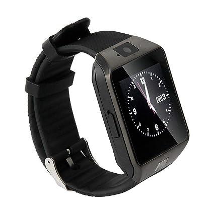 TechComm GV18 Bluetooth and GSM Unlocked Smart Watch 1.3 MP Camera