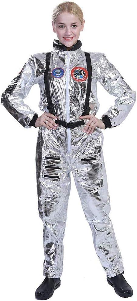 W&TT Disfraz de Astronauta para Hombre y Mujer Explorador Espacial ...