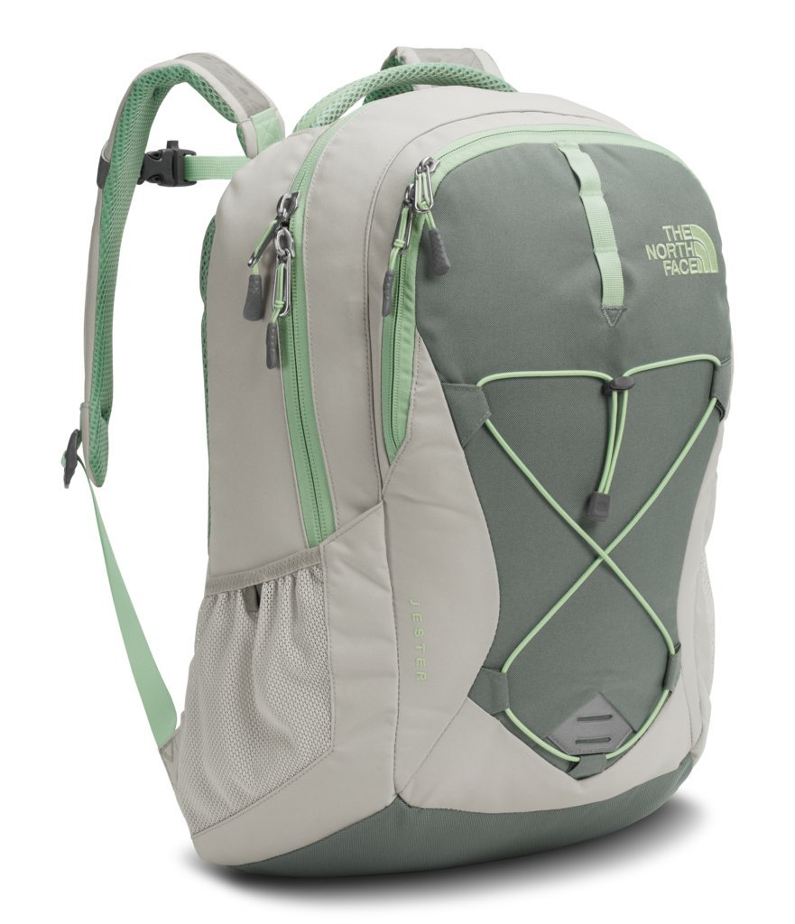 The North Face Women's Jester Backpack Backpack - Lunar Ice Grey/Sedona Sage Grey - One Size