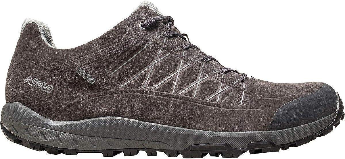 Asolo Mens Grid GV Leather Hiking Shoe