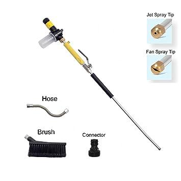 Windaze Garden Hose Nozzles,High Pressure Power Washer Spray  Nozzle,Multifunctional Portable Water Foam