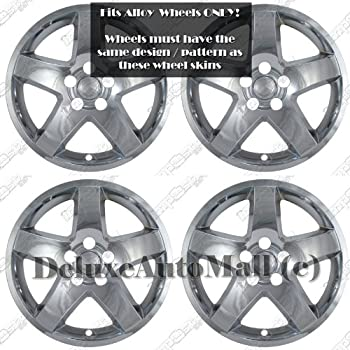 "2008, 2009, 2010 Dodge Charger 17"" CHROME WHEEL SKINS / HUBCAPS (Set of 4) - for 17"" ALLOY WHEELS ONLY!"