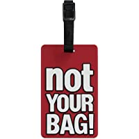 TangoTag 'Not Your Bag!' Luggage Tag, Red, HTC-TT814