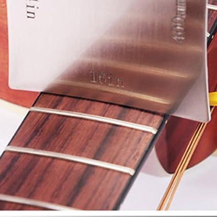 Guitarra, Guitarra, diapasón de medición de calibre radio radio medidores para sillín de tuerca