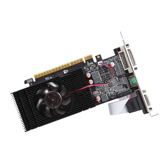 Topmore GeForce GT 1030 Tarjeta gráfica DVI-I/HDMI/VGA 2GB ...