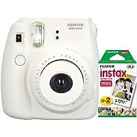 Câmera instantânea Fujifilm Instax Mini 8 - Branca + Filme 20 poses INSTAX_KIT9B