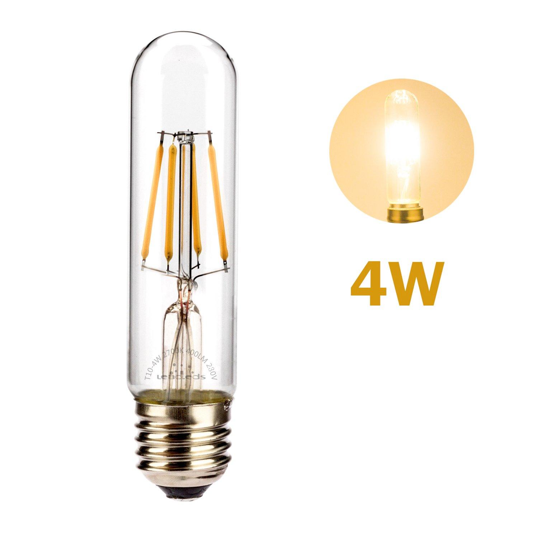 E27 4.00 wattsW 230.00 voltsV Verre Leadleds T30/4/W E27/220/V Warmwhite vintage LED Ampoules /à filament