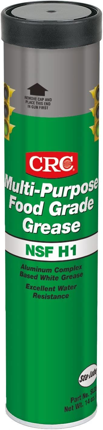 CRC (SL35600-10PK Multi-Purpose Food Grade Grease - 14 oz, (Pack of 10)