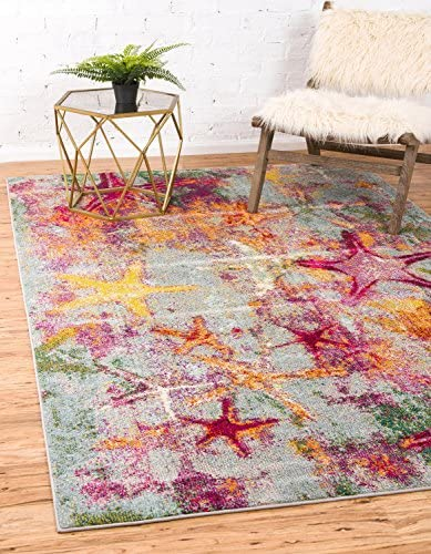 Unique Loom Positano Coastal Modern Area Rug
