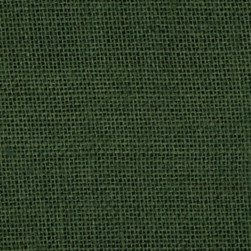 James Thompson 60in Sultana Burlap Hunter Green Fabric by The -