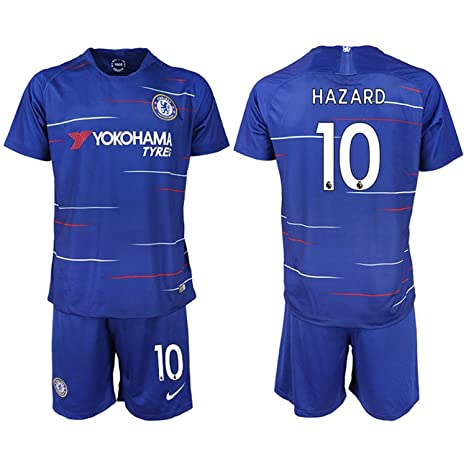 best service 79e76 13a24 Amazon.com : AdriK 2018/19 New Chelsea Hazard Men's Soccer ...