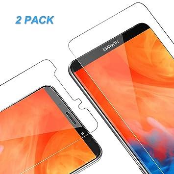 Vkaiy Protector de Pantalla para Huawei Mate 10 Pro, Cristal Templado para Mate 10 Pro, 9H Dureza, Anti Dactilares, Alta Definición, 2.5d Borde ...