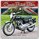 Vintage Motorcycle Calendar - Classic Motorcycle Calendar - Calendars 2016 - 2017 Wall Calendars - Motorcycle Calendar - Classic British Motorbikes 16 Month Wall Calendar by Avonside