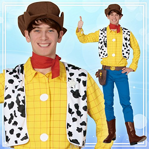 Disney Toy Story Woody Costume - Teen/Men's Standard Size
