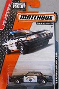 Matchbox California Highway Patrol Ford Mustang LX SSP Police Car