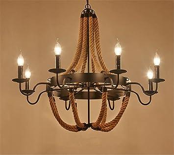Atmko®Iluminación Colgante Lámparas de araña Lámpara de ...