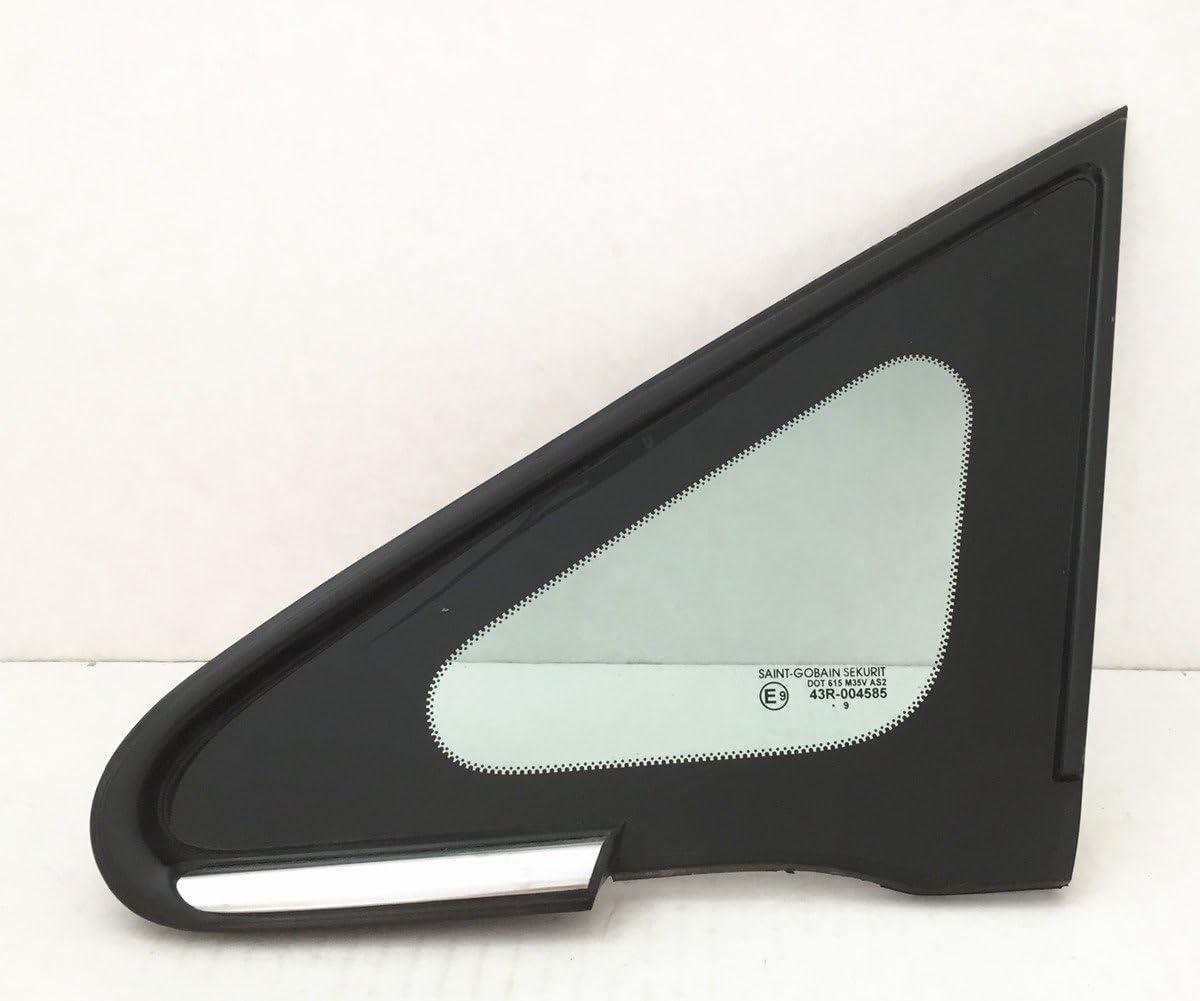 Fit 2007-2011 Nissan Versa Sedan Driver Left Front Vent Window Glass OEM