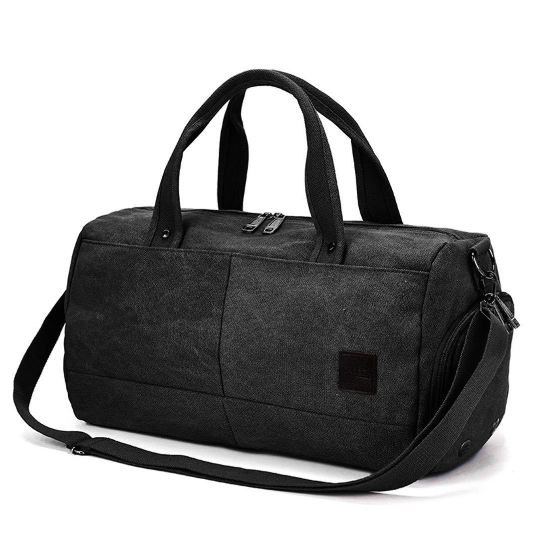 Men Sports Gym Bag Fitness Training Handbag Travel Shoulder Weekend Luggage Bag For Shoes Coffee