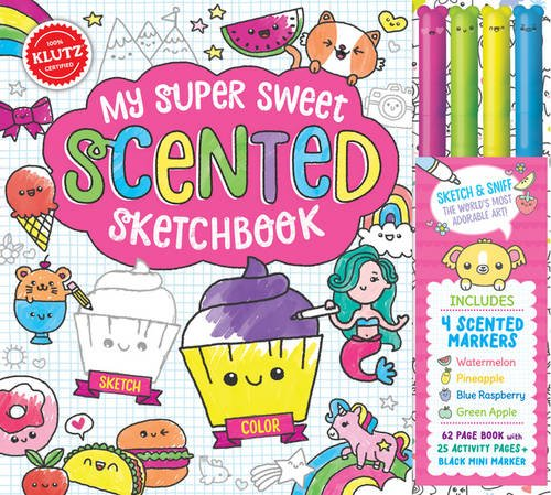 Klutz My Super Sweet Scented Sketchbook Toy