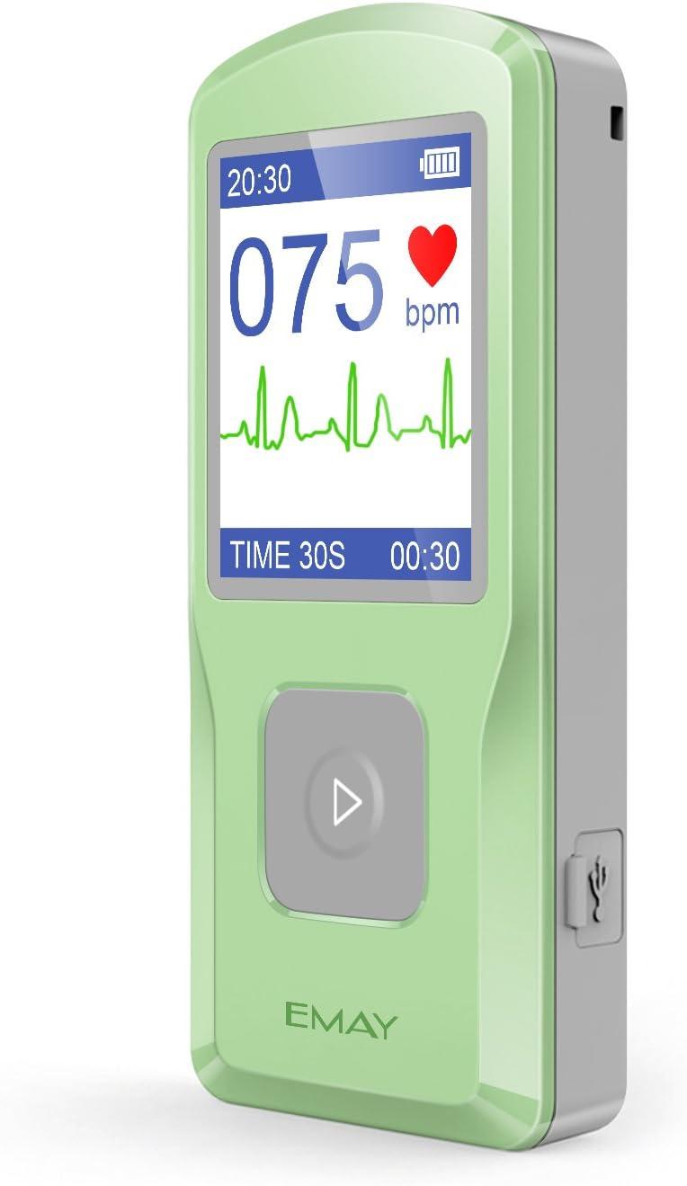 EMAY ECG Portatil, Electrocardiógrafo portátil, electrocardiograma portatil