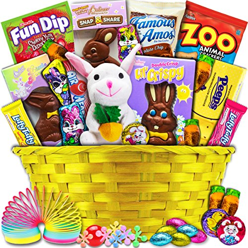 Classic Easter Gift Basket (Yellow) - Premade and Shrink-Wrapped Kids Boys Girls - Filled with Candy Chocolate Toys and More!!  sc 1 st  Desertcart & desertcart.ae: Country Quality Gift Baskets | Buy Country Quality ...