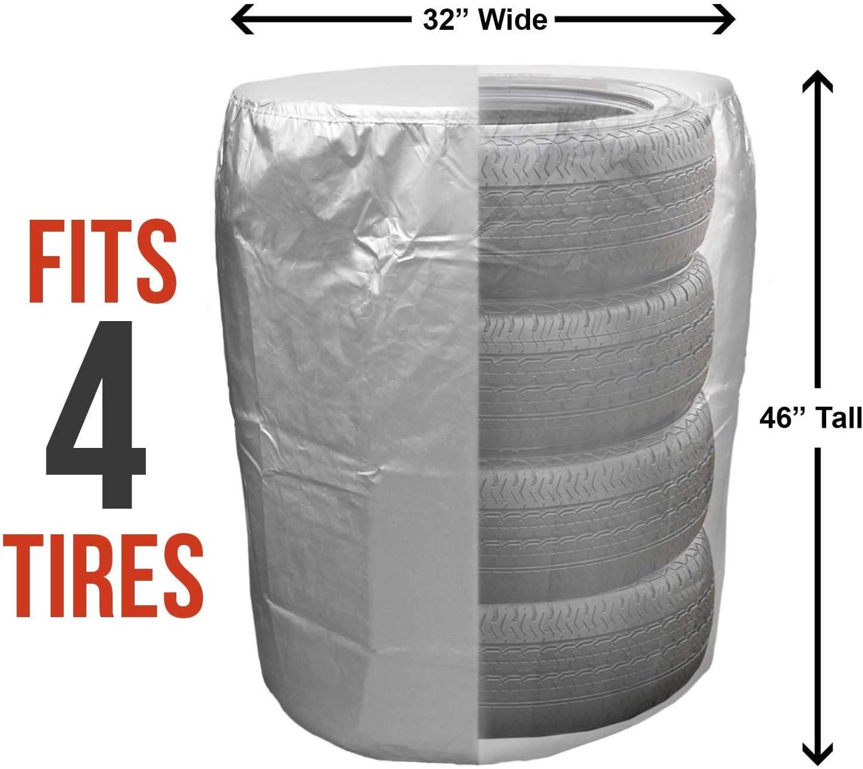 "GarageMate TireHide Small Fits 20/"" Tires Garage Tire Seasonal Storage Dustproof"