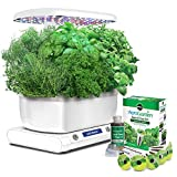 Miracle-Gro AeroGarden Harvest (LCD Control Panel) with Gourmet Herb Seed Pod Kit, White