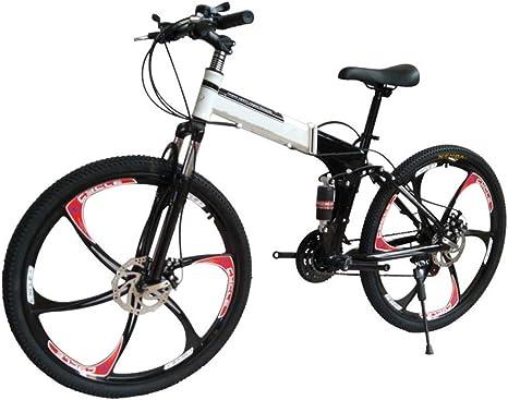 ZTBXQ Hombres Adultos Bicicleta de montaña Ligero y Mujeres Bicicletas de montaña Bicicletas 16 17 18 Cuadro de 44 Pulgadas Bicicleta MTB Bicicleta de montaña Todo Terreno: Amazon.es: Deportes y aire libre