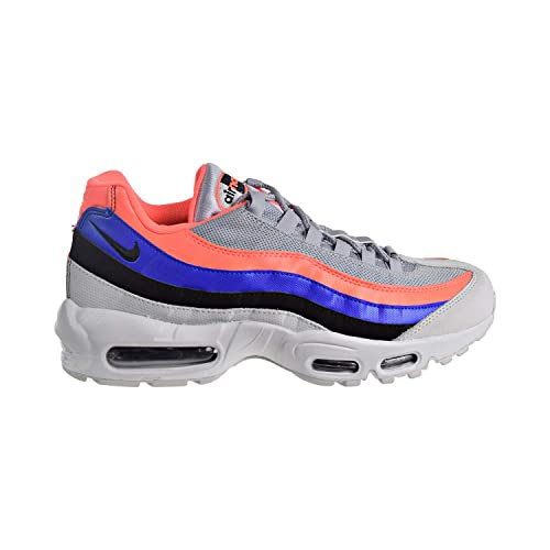 sale retailer d1d52 24402 Nike Men s Air Max 95 Essential Competition Running Shoes, Multicolour (Pure  Platinum Black