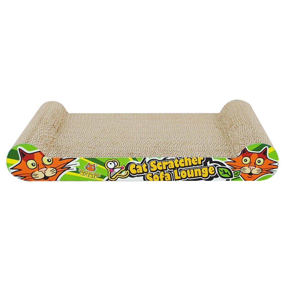 B Cat Scratch Board Cat Grinding Toys Pet Products Cat Litter Exquisite cat Furniture Cat Sofa Catnip (color   B)