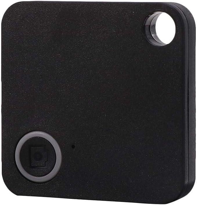 Square Anti-Lost Auto GPS Tracker Kinder Haustiere Brieftaschen Schl/üssel Alarm Locator Echtzeit-Finder Trackr-Black