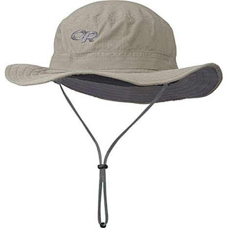 Image Unavailable. Image not available for. Color  Outdoor Research Helios  Sun Hat Khaki ... c08523ee8941