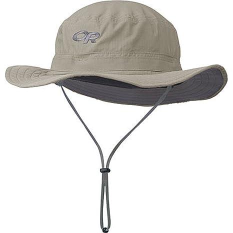 a360384e Amazon.com: Outdoor Research Helios Sun Hat Khaki, L: Sports & Outdoors