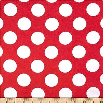 Faux Silk Charmeuse Satin Fabric Red /& Black Zebra Stripes
