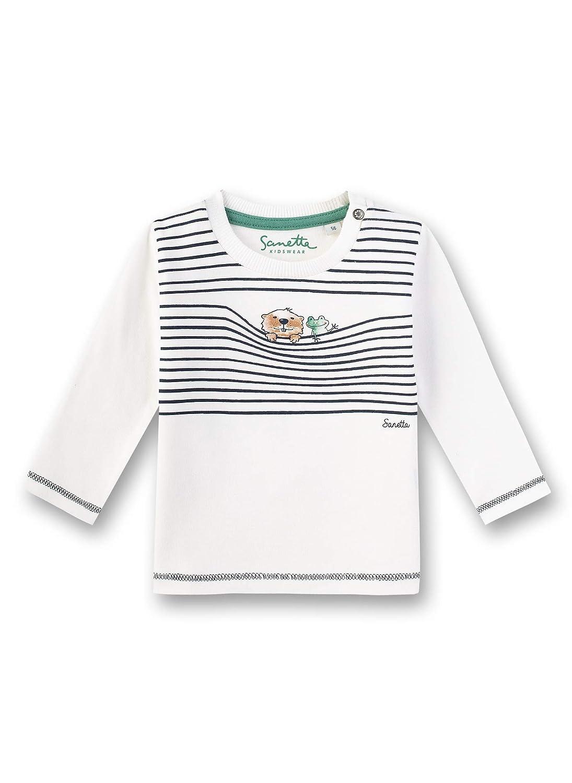 Sanetta Jungen Baby Shirt Kurzarm