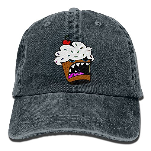 Cannibal Cupcake Baseball Caps Adult Sport Cowboy Trucker Hats Adjustable Navy By - Stores In Lakeside Mall