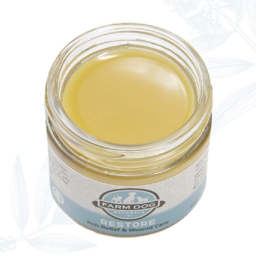 Farm Dog Naturals - Restore Wound Care and Itch Relief Salve for Dogs, 2 Ounce by Farm Dog