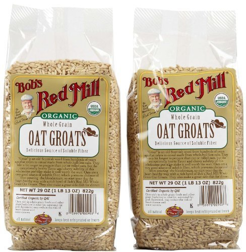 Groats Oat Raw - Bob's Red Mill Organic Oats Whole Groats - 29 oz - 2 Pack