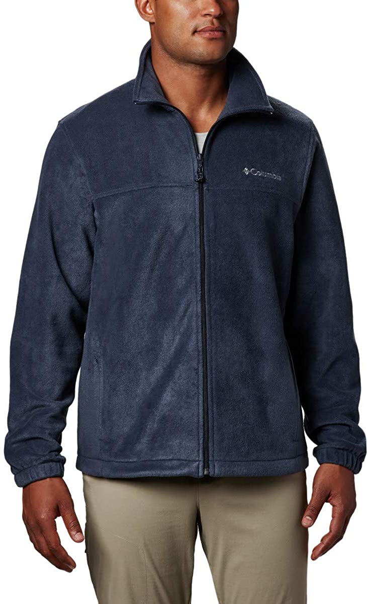Collegiate Navy S Columbia Herren Fleecejacke