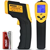 LP Digital Infrared Thermometer ? Non-contact Temperature Gun with LCD Laser Sight ? Instant-read Handheld ? Yellow/Black by LP