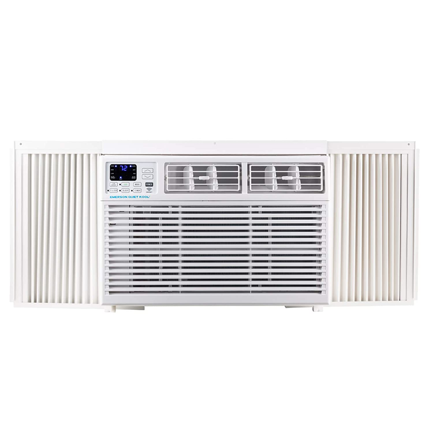 Emerson Quiet Kool EARC8RSE1 8000 BTU 115V WiFi White Window Air Conditioner with Remote Control with Smart Wi-Fi