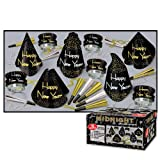 Beistle 88671-NR The Midnight Party Favors, 1 Assortment Per Package